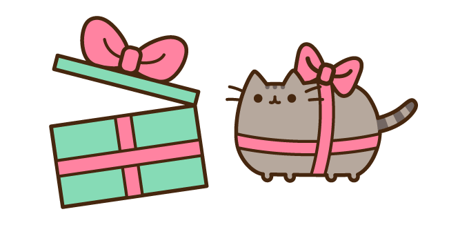 Pusheen Present and Gift Box