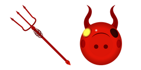 Roblox Piggy Devil Cursor