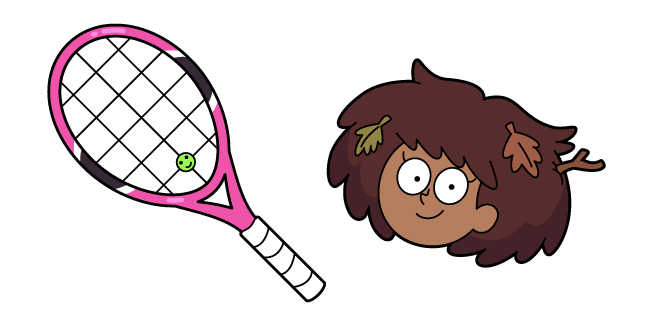 Amphibia Anne Boonchuy and Tennis Racket