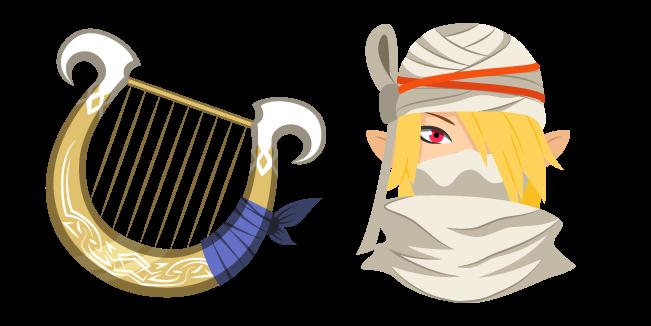 The Legend of Zelda Sheik and Goddess's Harp