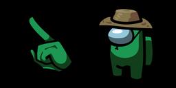 Among Us Fortegreen Character in Safari Hat