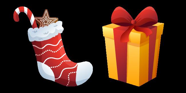Christmas Sock and Present