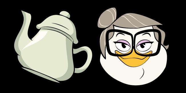 DuckTales Mrs. Beakley and Teapot