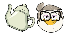 DuckTales Mrs. Beakley and Teapot