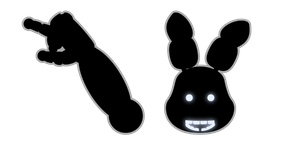 Five Nights at Freddy's Shadow Bonnie Cursor