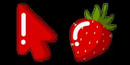 Minimal Strawberry Cursor