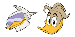 DuckTales Fenton Crackshell and Gizmoduck Cursor