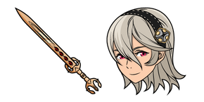 Fire Emblem Corrin and Sword Cursor