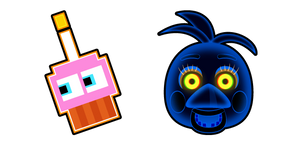 Five Nights at Freddy's Highscore Toy Chica and Cupcake Cursor