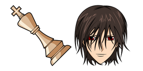 Vampire Knight Kaname Kuran and Chess Piece King Cursor