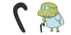 SpongeBob Old Man Walker Cursor