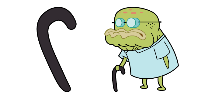 SpongeBob Old Man Walker
