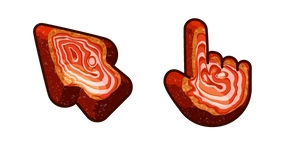 Materials Red Agate Cursor