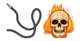 Ghost Rider Chain Cursor