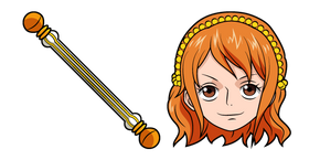One Piece Nami and Sorcery Clima-Tact Cursor