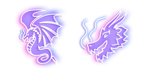 Neon Dragon Cursor