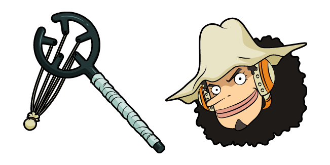 One Piece Usopp and Slingshot