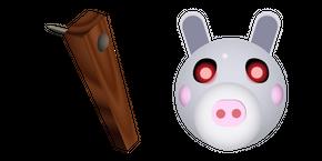 Курсор Roblox Piggy Daisy