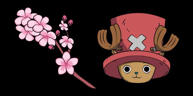 One Piece Tony Tony Chopper and Sakura Blossom