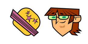 Total Drama Harold and Hamburger Cursor