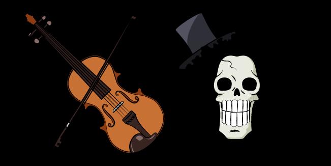 One Piece Брук и Скрипка