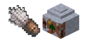 Minecraft Brush and Clay Pot Cursor