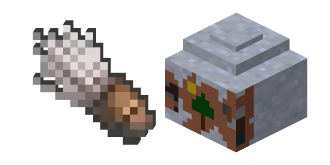 Minecraft Brush and Clay Pot