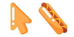 Minimal Hot Dog Cursor