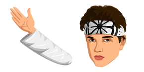 The Karate Kid Daniel LaRusso Curseur