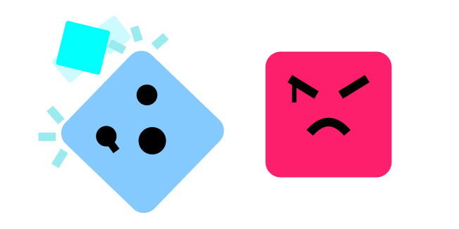 Just Shapes and Beats Big Cube and Evil
