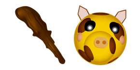 Курсор Roblox Piggy Giraffy