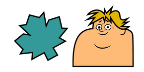 Total Drama Owen and Maple Leaf Cursor