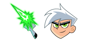 Danny Phantom and Ghost Ray Curseur