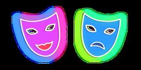 Neon Theatre Masks Curseur