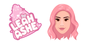 Leah Ashe and Logo Cursor