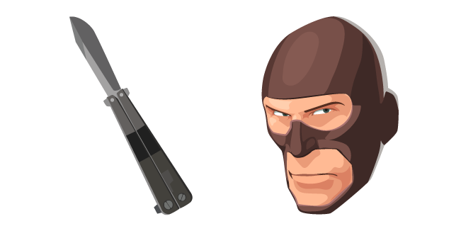 Team Fortress 2 Spy and Knife