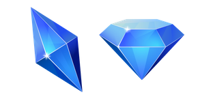 Blue Diamond Cursor