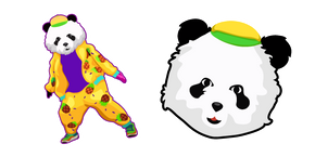 Just Dance Panda Cursor