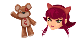 League of Legends Annie and Tibbers Curseur