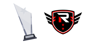 Esports Rise Logo and Winner's Cup