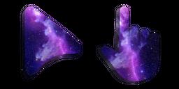 Purple Space Cursor