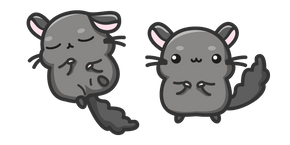 Cute Chinchilla Cursor