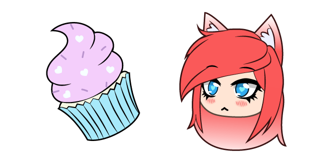 Gacha Life FlashyKlau and Cupcake