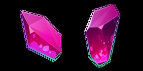 Magenta Crystal Curseur