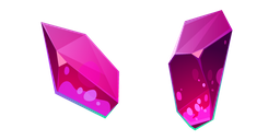 Magenta Crystal Cursor