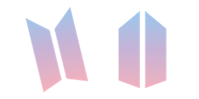 BTS and ARMY Logo Cursor
