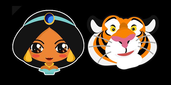 Aladdin Jasmine Princess and Rajah