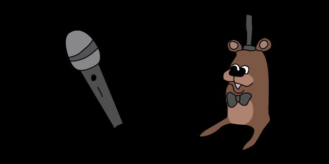 Feddy and Microphone Meme