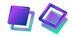 3D Abstract Square Cursor