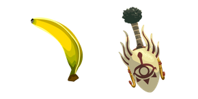 The Legend of Zelda Master Kohga and Mighty Banana Cursor
